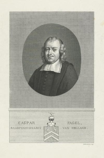 Portret van Caspar Fagel