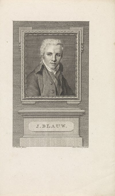 Portret van Jacobus Blauw