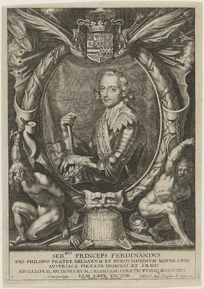 Portret van Ferdinand van Oostenrijk