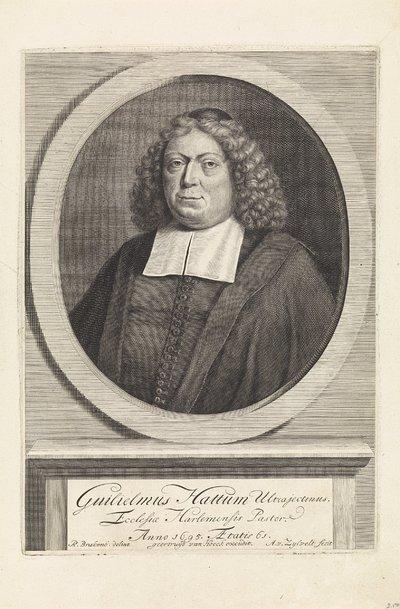 Portret van Willem Hattum