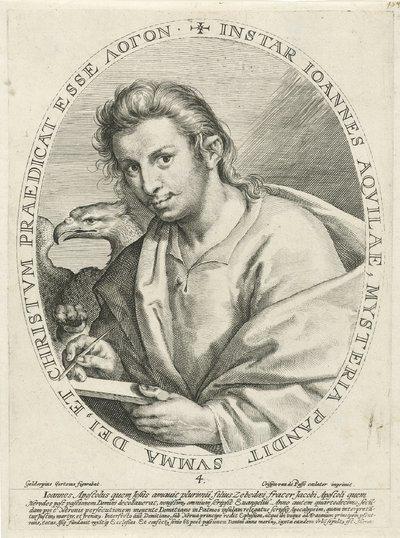 Evangelist Johannes; De vier evangelisten