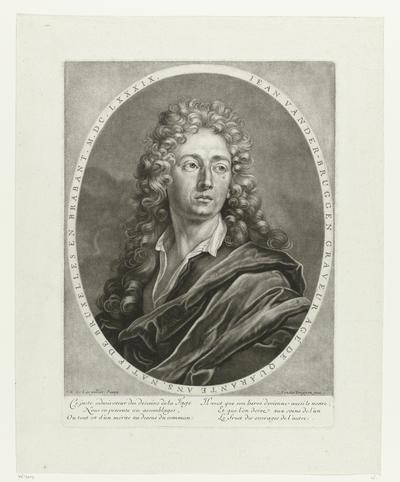 Zelfportret van Jan van der Bruggen