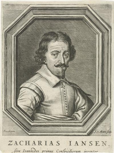 Portret van Zacharias Jansen