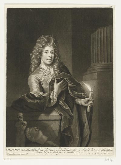 Portret van Godfried Schalcken
