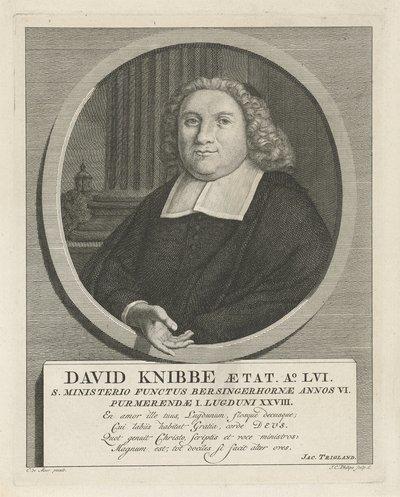 Portret van David Knibbe