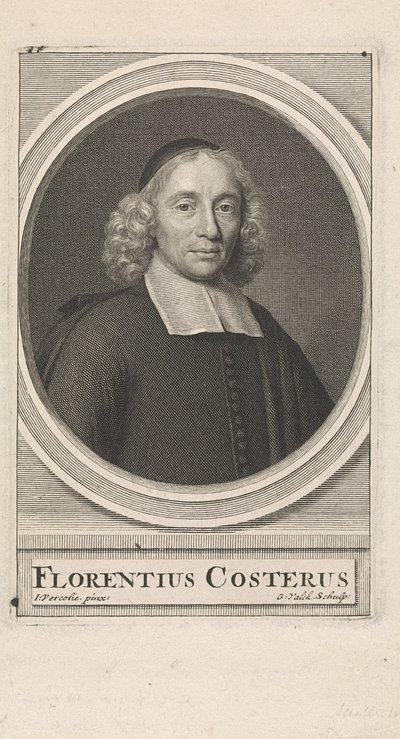 Portret van de predikant Florentius Costerus