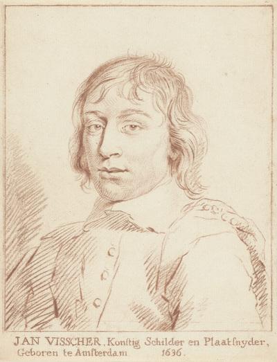 Portret van Jan de Visscher