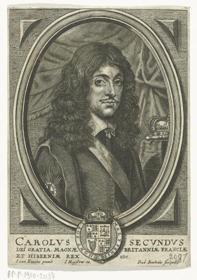 Portret van Karel II van Engeland