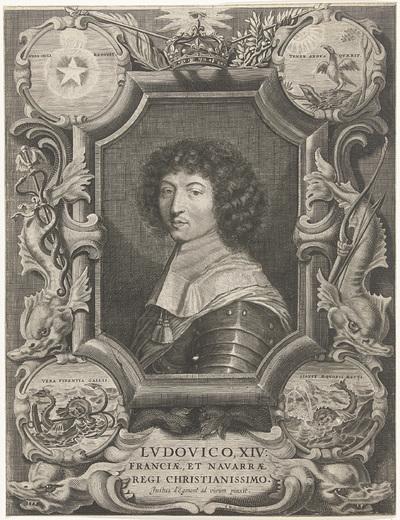 Portret van Lodewijk XIV