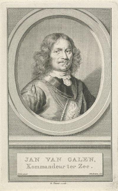 Portret van Johan van van Galen; Jan van Galen