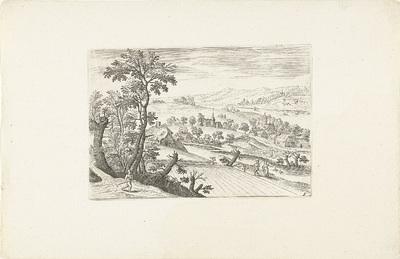 Landschap met een korenveld; Landschappen rond Antwerpen