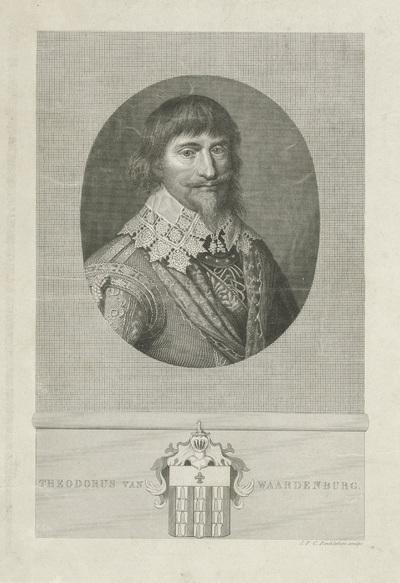 Portret van Theodor van Weerdenburg