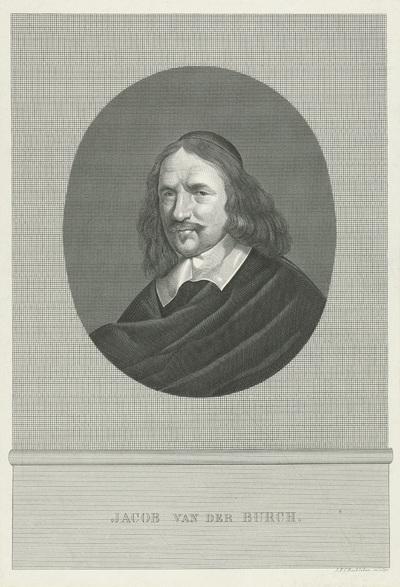 Portret van Jacob van den Burgh