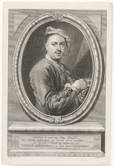 Portret van Jacques de Roore