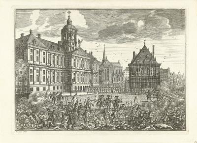 Executies en oproer op de Dam, 1748
