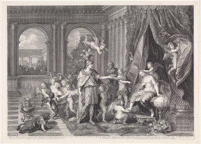 Bruiloft van Alexander en Roxana