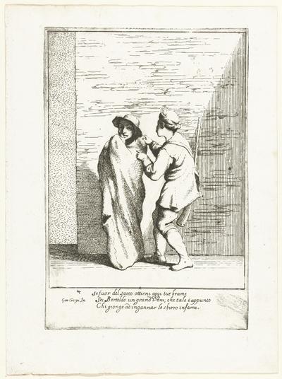 Bertoldo in een zak; Historie van Bertoldo, Bertoldino en Cacasenno