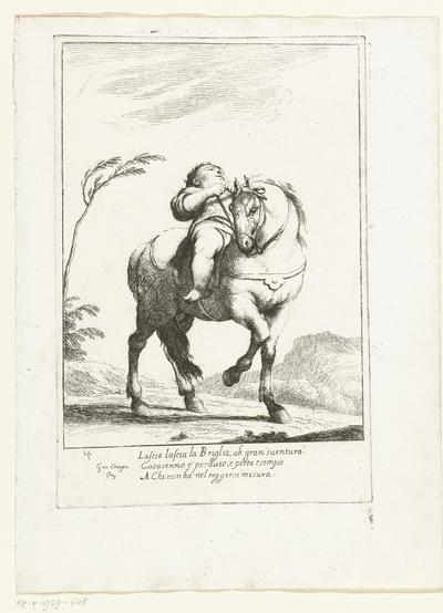 Cacasseno te paard; Historie van Bertoldo, Bertoldino en Cacasenno