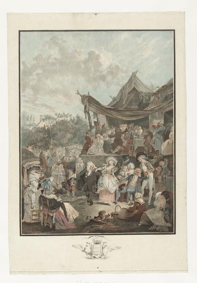 Dansende bruid; Le Menuet de la Mariée