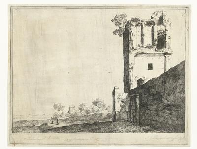 Ruïnes in Rome; Pars murorum Romae veteris; Romeinse ruïnes