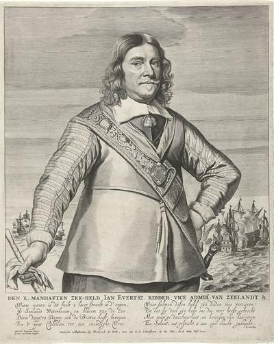 Portret van Johan Evertsen