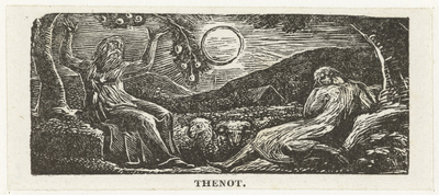 Thenot onder de vruchtboom; Illustrations of imitation of Eclogue I
