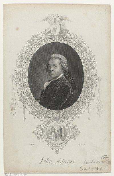 Portret van John Adams