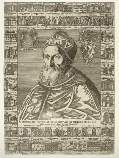 Portret van paus Gregorius XIII