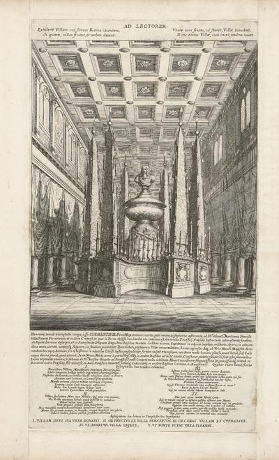 Katafalk voor François Guiron de Ville