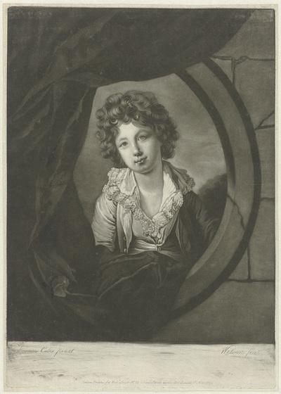 Portret van William Campbell Skinner als jongen
