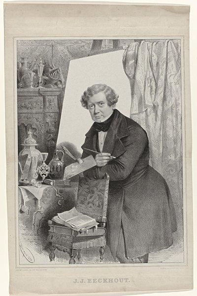 Portret van J.J. Eeckhout