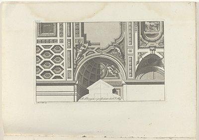 Twee variaties op een absis; Raccolta di dissegni originali di Mauro Tesi