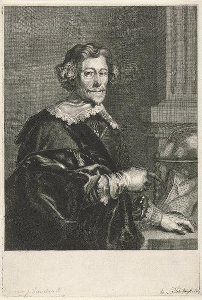 Portret van Pieter Corneliszoon Hooft