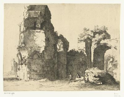 Ruïne in Rome; Romeinse ruïnes