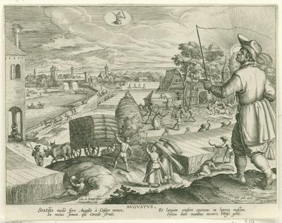 Augustus; Avgvstvs; De twaalf maanden; Menses XII Anni Solaris
