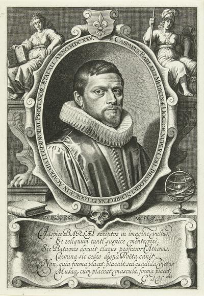 Portret van Caspar van Baerle