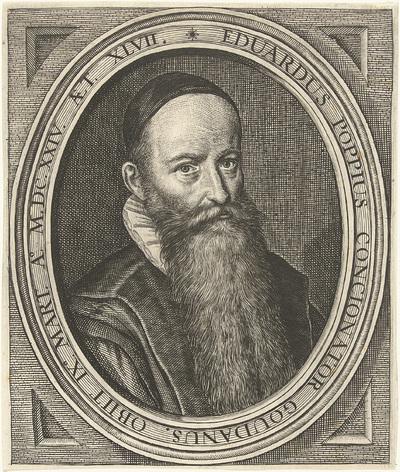 Portret van predikant Eduard Poppius