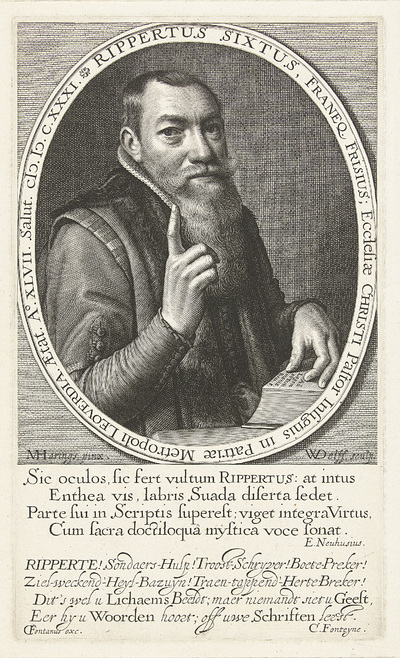Portret van Rippertus Sixtus