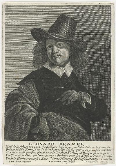 Portret van Leonard Bramer