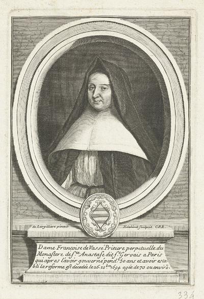 Portret van Françoise de Vassé