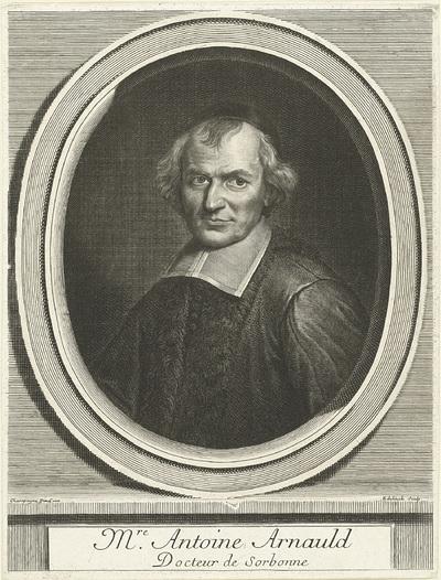 Portret van Antoine Arnauld