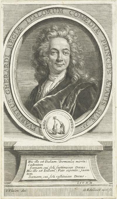Portret van Evaristo Gherardi