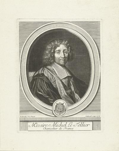Portret van Michel le Tellier
