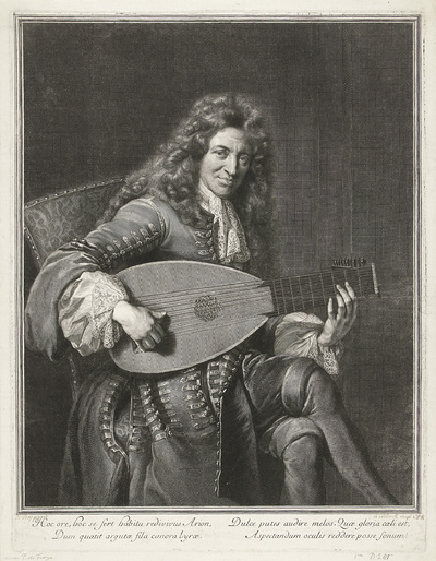 Portret van Charles Mouton