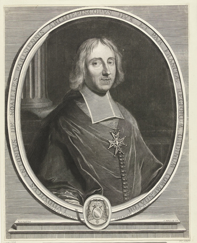 Portret van Louis-Antoine de Noailles