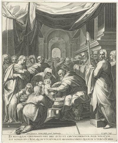 Besnijdenis van Christus; Leven van Maria