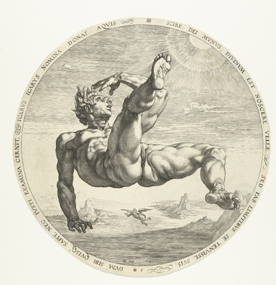 Icarus; De vier vallers