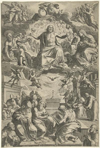 Twist tussen de kerkvaders over het heilig sacrament