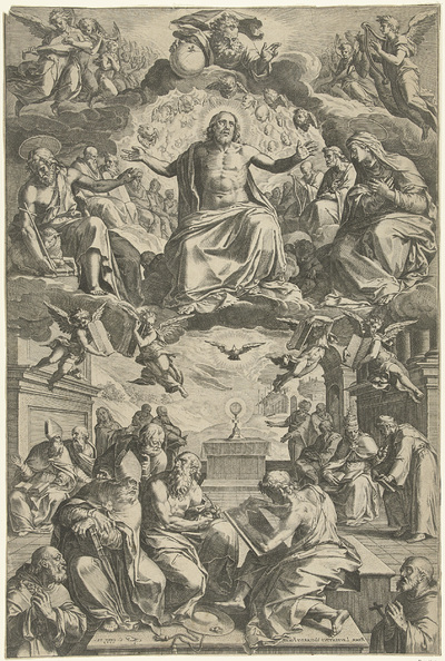 Image from object titled Twist tussen de kerkvaders over het heilig sacrament
