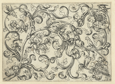 Vine Ornament with Birds